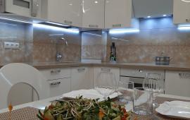 На фото установленная кухня по ул. Флотской