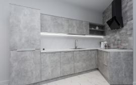 Кухня-гостиная с легким верхом