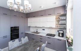 Фотоотчёт установленных кухонь