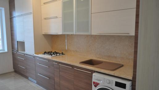 Кухня со стиральной машиной
